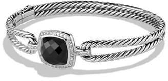 David Yurman Albion Bracelet with Black Onyx and Diamonds