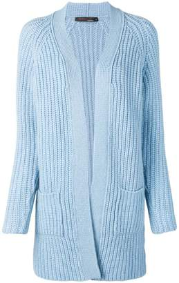 Incentive! Cashmere chunky knit open cardigan