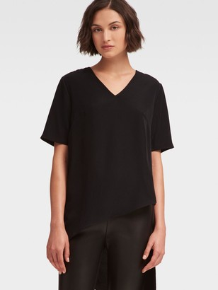 DKNY High-Low Asymmetrical Top