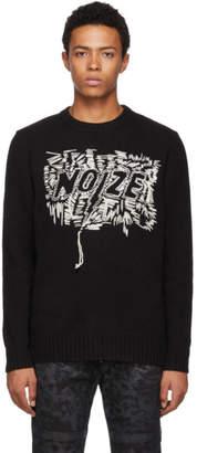 Diesel Black K-Paxs Noize Crewneck Sweater