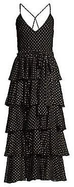 Jay Godfrey Women's Hader Tiered Ruffle Dress