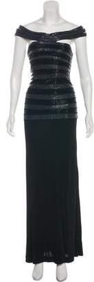 Herve Leger Embellished Evening Dress