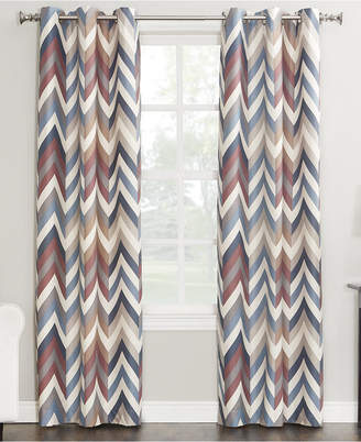 """Sun Zero Cade Thermal Lined Curtain 40"""" x 63"""" Panel"""