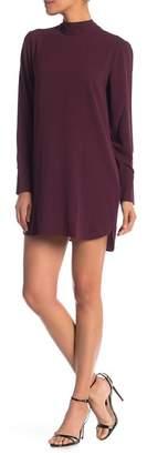 Vero Moda Eclipse Mock Neck Mini Dress