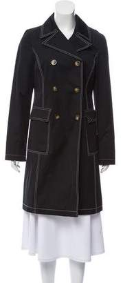 MICHAEL Michael Kors Notch-Lapel Trench Coat