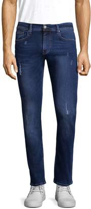 Armani Exchange Men's Contrast Stitch Skinny Jeans