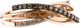 Le Vian 14K Diamond Crisscross Ring $795 thestylecure.com