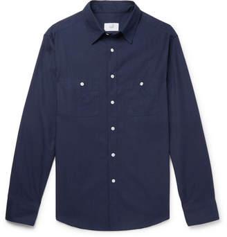 Dunhill Cotton-Ripstop Shirt