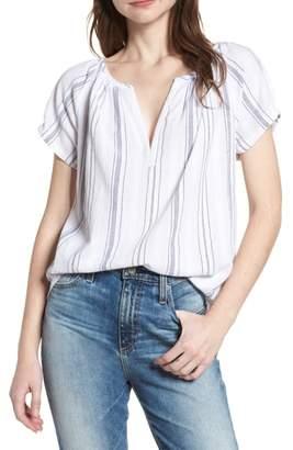 AG Jeans Ariel Stripe Blouse