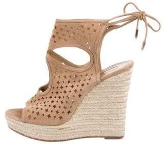 Aquazzura Sexy Star Wedge Sandals