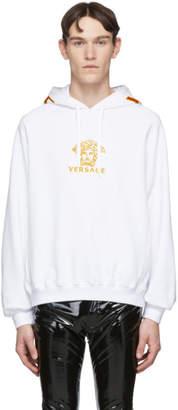Versace White Medusa Hoodie
