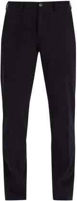 Ermenegildo Zegna Mid-rise cotton-blend chino trousers
