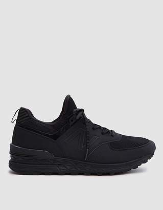 New Balance 574S Synthetic/Mesh in Black
