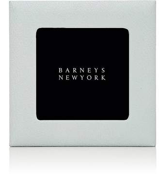 """Barneys New York Pebbled Leather 4"""" x 4"""" Picture Frame"""