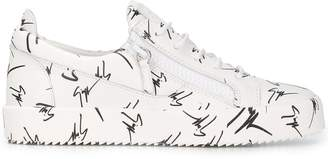 Giuseppe Zanotti Design The Signature low top sneakers