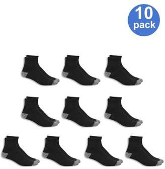 Athletic Works Men's Ankle Socks 10 Pack