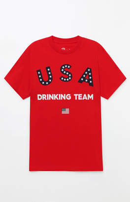adidas Port USA Drinking Team T-Shirt