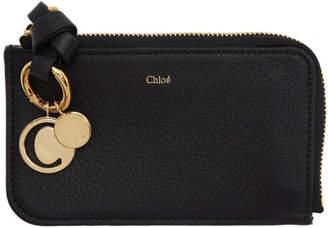 Chloé (クロエ) - Chloe ブラック Alphabet カード ホルダー