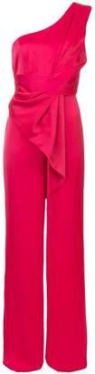 Jay Godfrey asymmetric ruffle jumpsuit