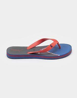 Joules Boys Printed Comfy Flip Flops with Eye-Catching Design in Blue Shark