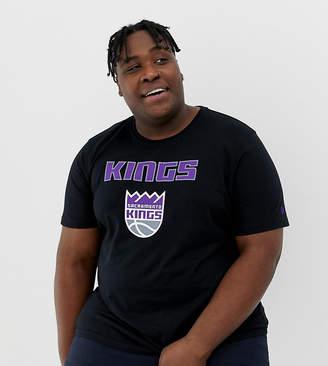 New Era PLUS NBA Sacramento Kings T-Shirt In Black