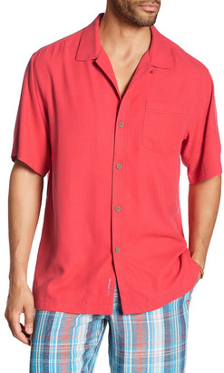 Tommy Bahama Belize Silk Short Sleeve Original Fit Shirt $110 thestylecure.com