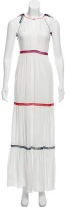 Red Carter Sleeveless Maxi Dress w/ Tags
