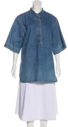Stella McCartney Denim Short Sleeve Tunic