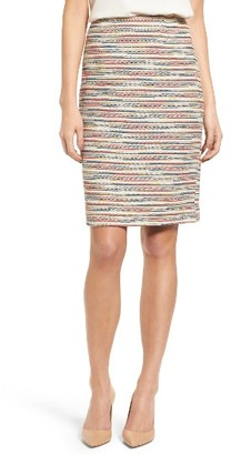 Women's Emerson Rose Tweed Pencil Skirt $119 thestylecure.com