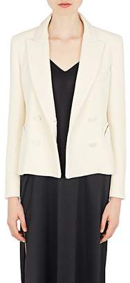 BLAZÉ MILANO Women's Essentials Wool Double-Breasted Blazer