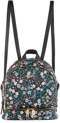 Karl Lagerfeld Paris Cara Floral-Print Nylon Backpack Bag