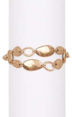 The Sak Double Etched Row Stretch Bracelet