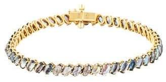 Paolo Costagli 18K Diamond-Accented Sapphire Tennis Bracelet