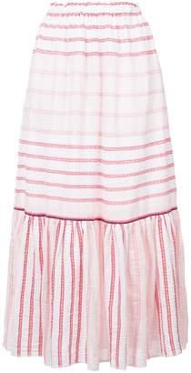 Lemlem striped full skirt