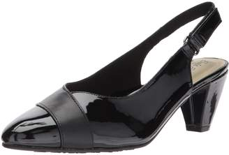 Hush Puppies Women's Dagmar Shoes, Black Kid/Patent