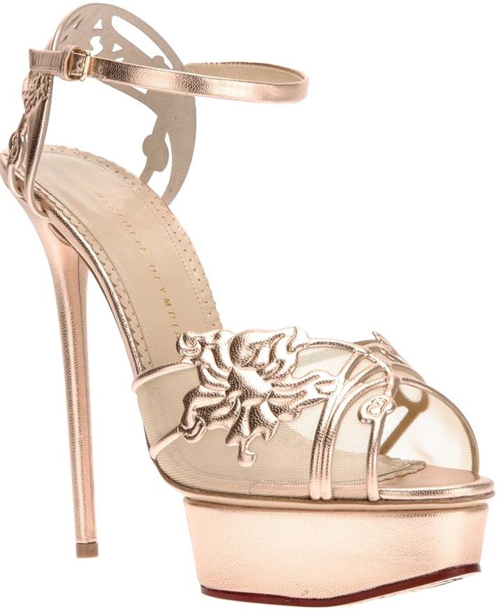 Charlotte Olympia 'Metropolita' sandal