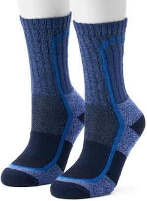 Columbia Women's 2-Pack Technical Performance Crew Socks