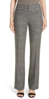 Women's Lafayette 148 New York Antico Plaid Menswear Pants $448 thestylecure.com