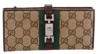 Gucci GG Web Jackie Wallet
