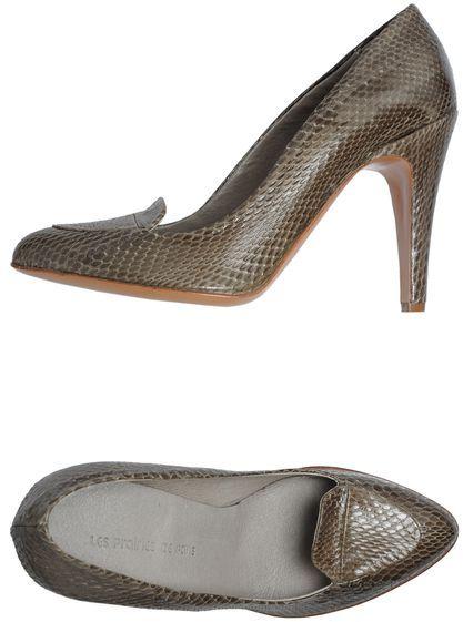 Les Prairies de Paris Moccasins with heel