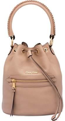 Miu Miu top handle bucket bag