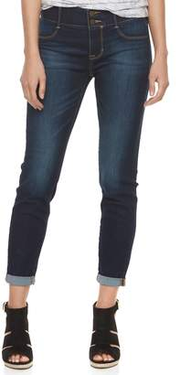 Apt. 9 Women's Tummy Control Cuffed Capri Jeans