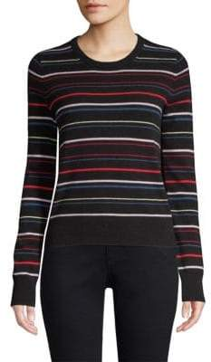 Equipment Shirley Variety Stripe Cashmere Sweater