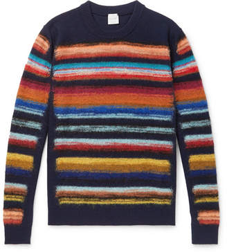 Paul Smith Striped Wool-Blend Sweater