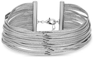 Lipsy Slinky Chain Multirow Choker Necklace
