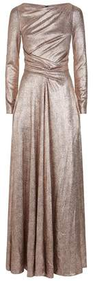 Talbot Runhof Twisted Metallic Gown