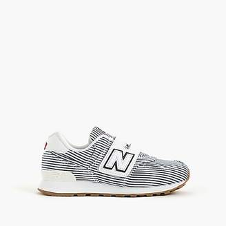 New Balance Kids' for crewcuts 574 Velcro® sneakers in stripes
