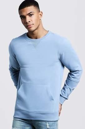 boohoo Kangaroo Pocket Panel Sweater