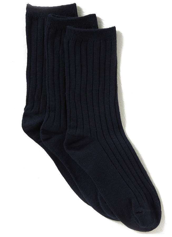 3-Pack Crew Dress Socks