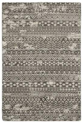 "Solo Rugs Modern 4 Hand-Knotted Area Rug, 6' 1"" x 9' 1"""